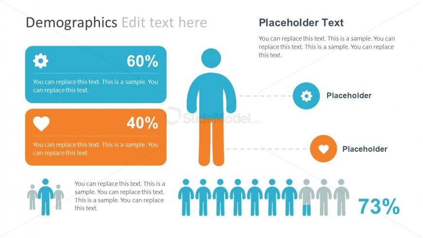 infographic professional report template slidemodel