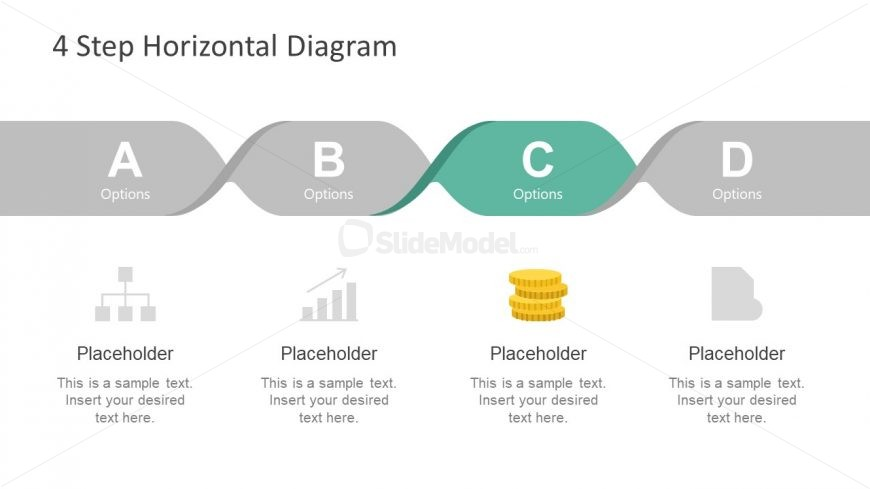 Free 4 Step Horizontal Presentation
