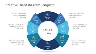 Sliced Diagram Segments PPT