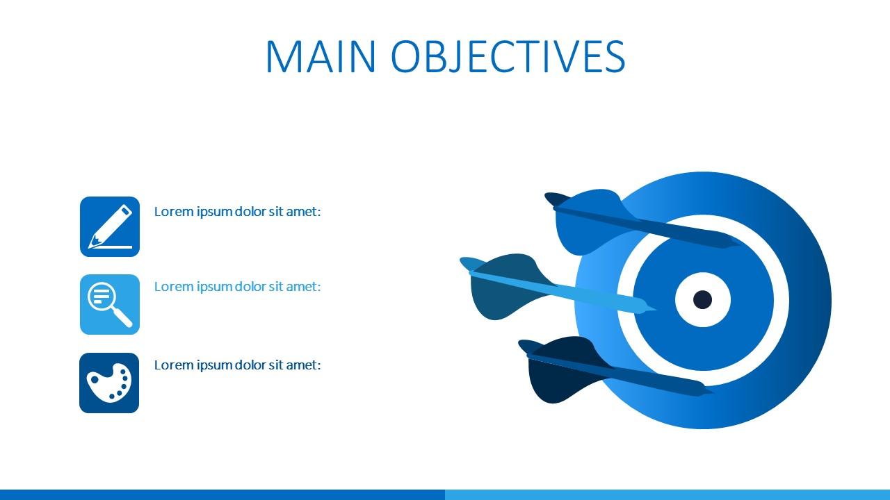 PPT Dartboard for Objectives