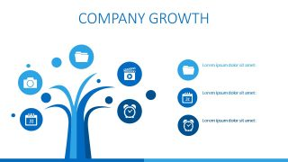 Tree Illustration of Growth in Business