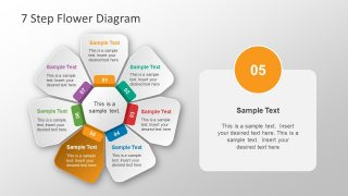 Colorful PowerPoint Diagram 7 Steps