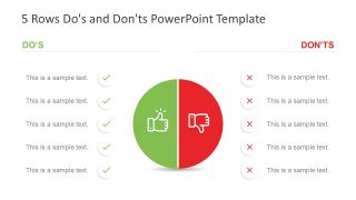 PowerPoint Comparison List Free Template