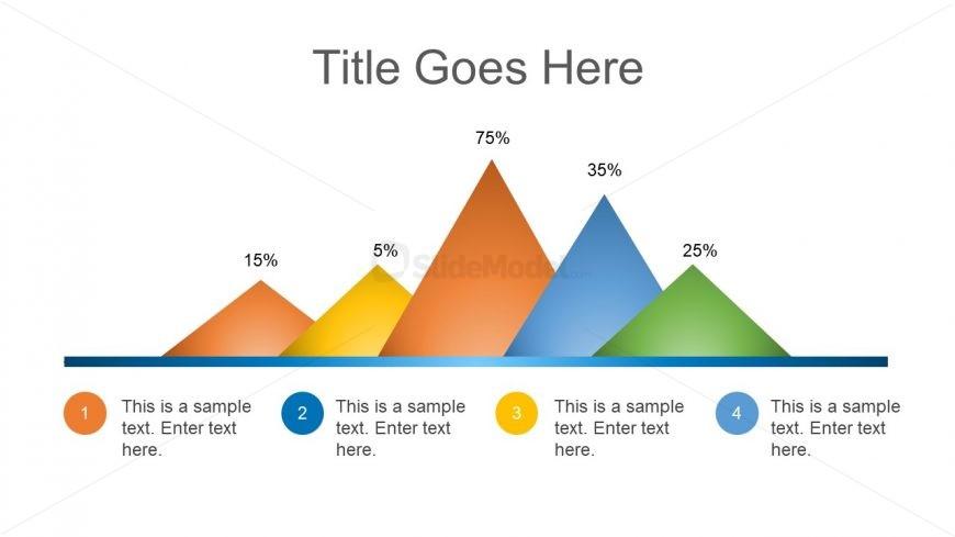 Bar Chart Portraying Mountain Design