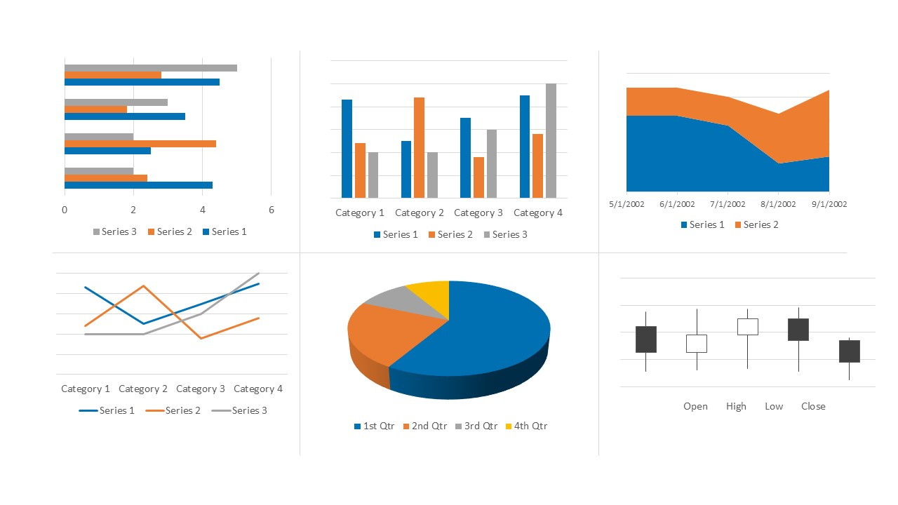 PPT Data Chart Design Presentation