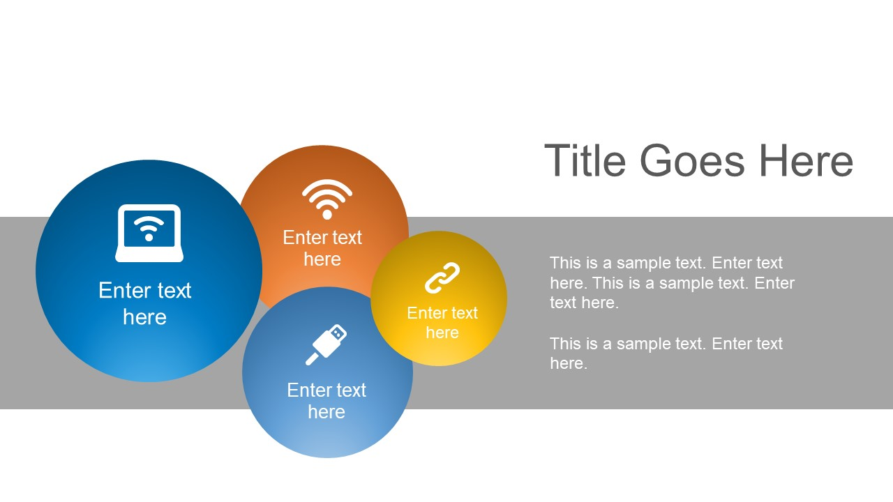 Infographic Circular Presentation Template