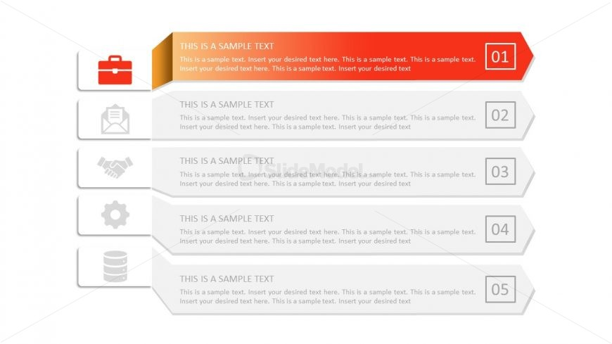PowerPoint Infographic Arrows Design