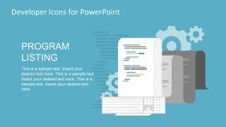PowerPoint Template of Web Codes