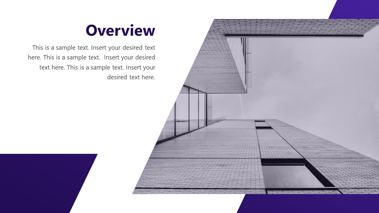 Slide of Business Overview
