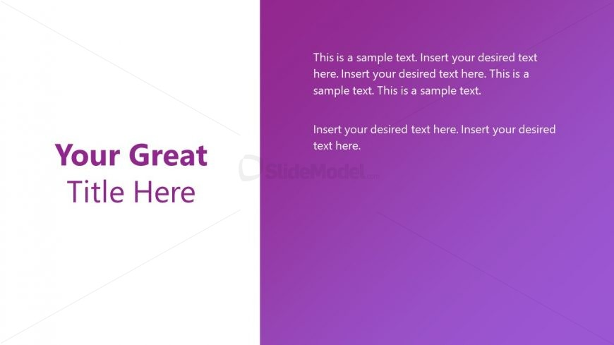 Infographic PowerPoint Corporate Slide