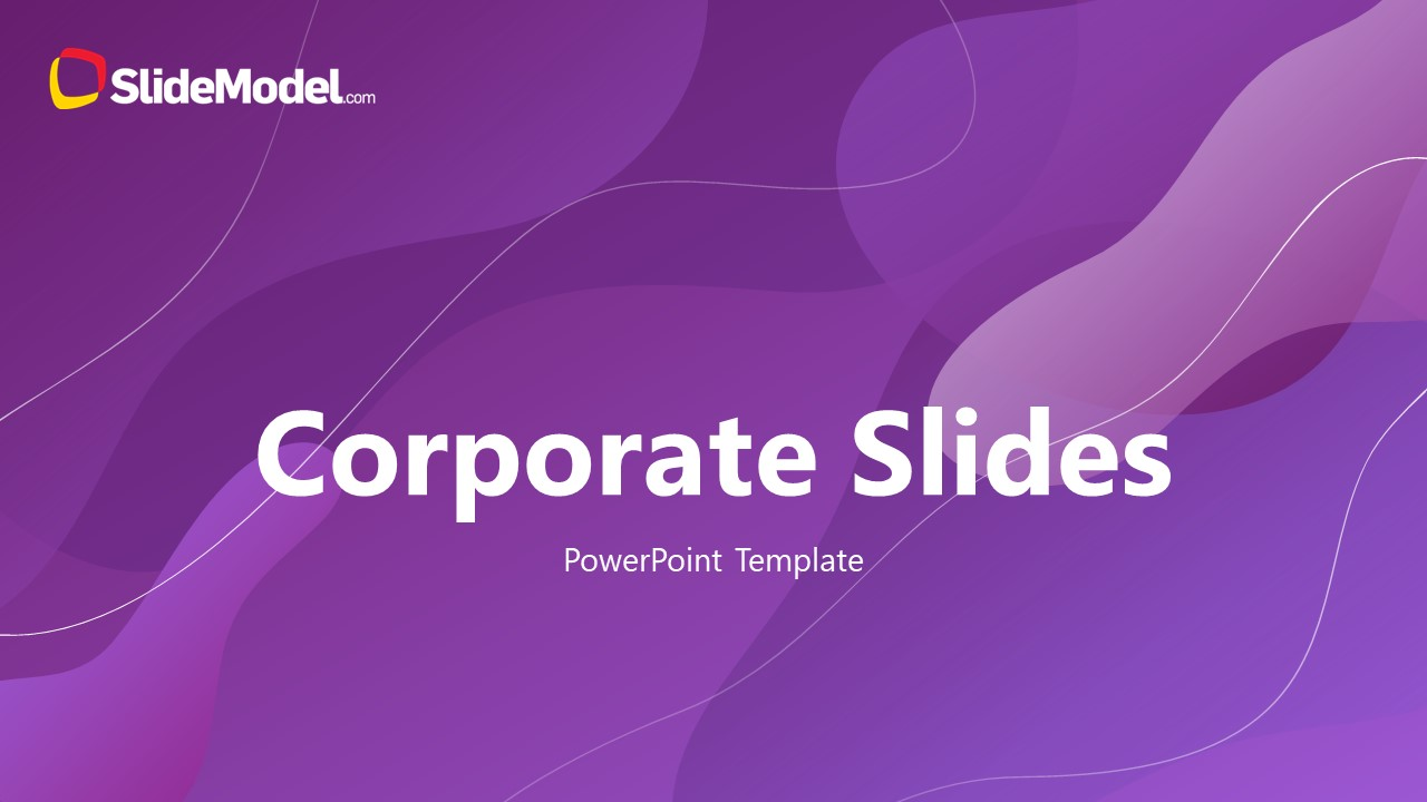 Infographic Corporate Template Heading