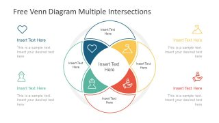 Infographic Elements of Venn Diagram