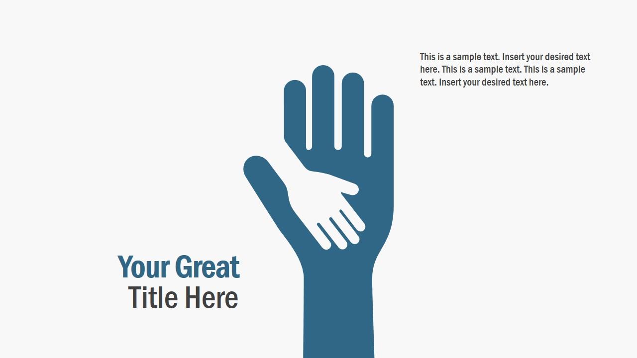 Hands Representing Solidarity PPT