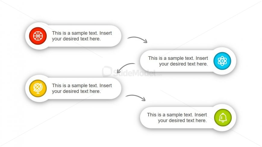 Slide of Labels Diagram Template