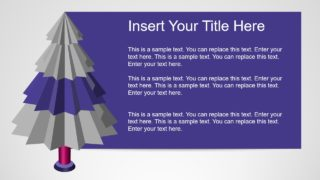 Star Style Tree Diagram PPT