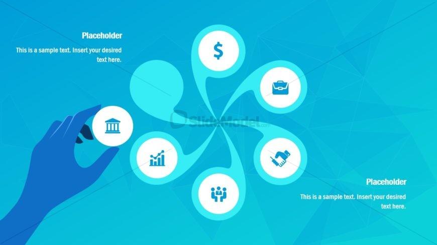 Infographic PowerPoint of Swirl Diagram