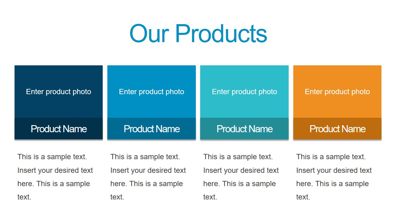 PowerPoint Business Product Slide