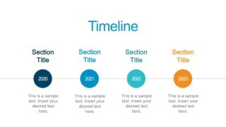 Slide of4 Steps Timeline