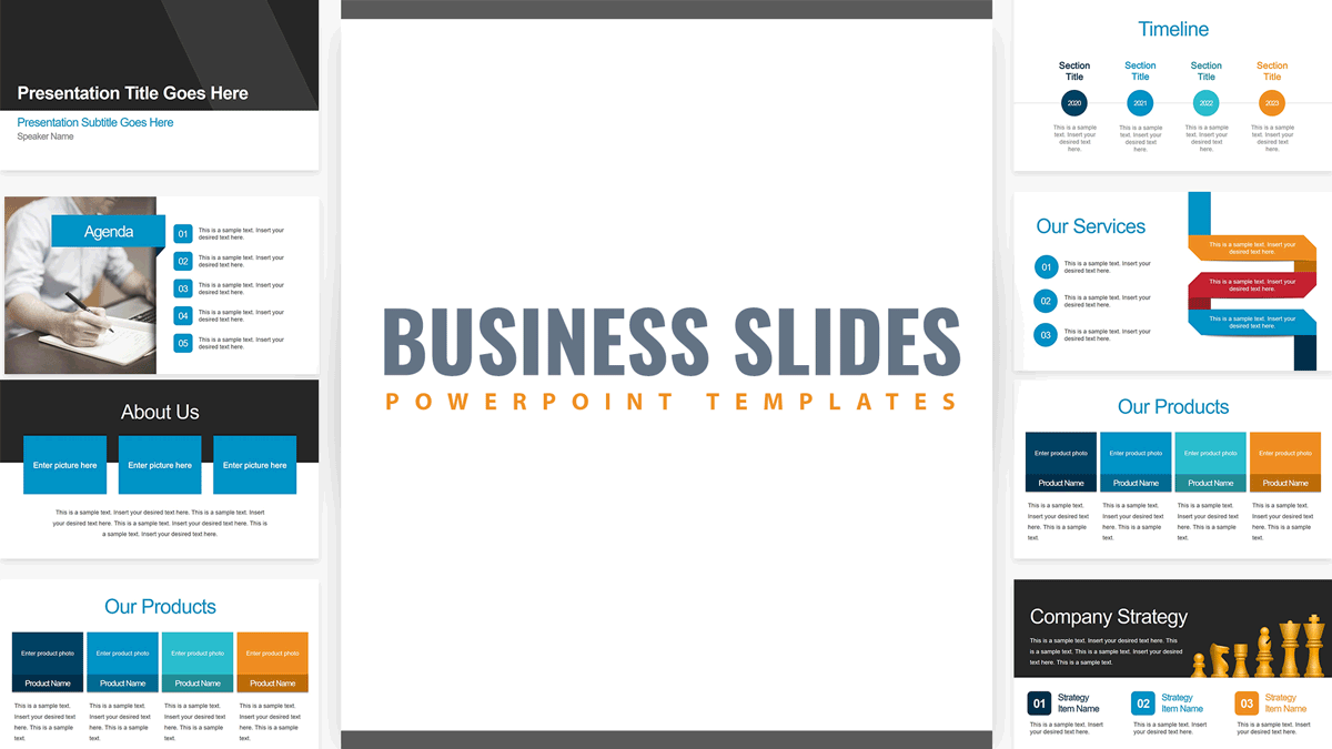 Download Free Business Slides PowerPoint Template