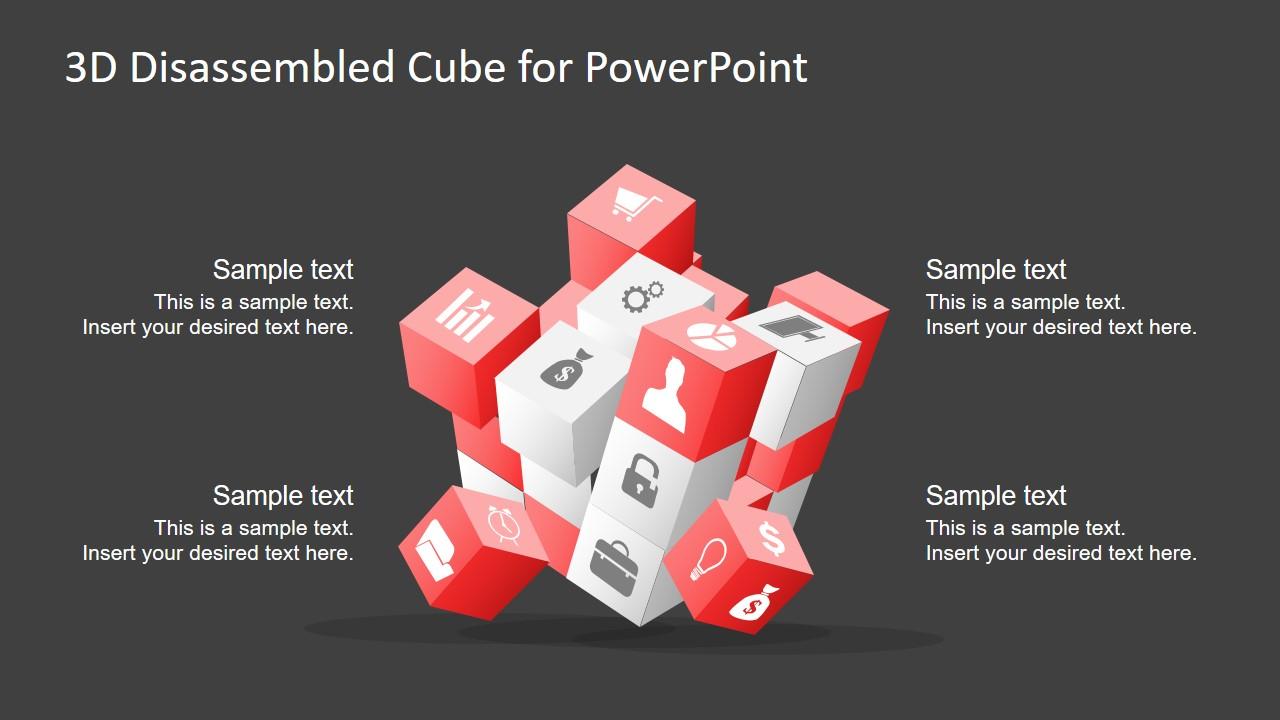 Presentation of 3D Cube