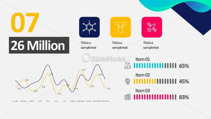 Slide of Custom Infographic Chart