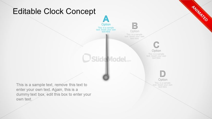 Analog Clock Animation Template
