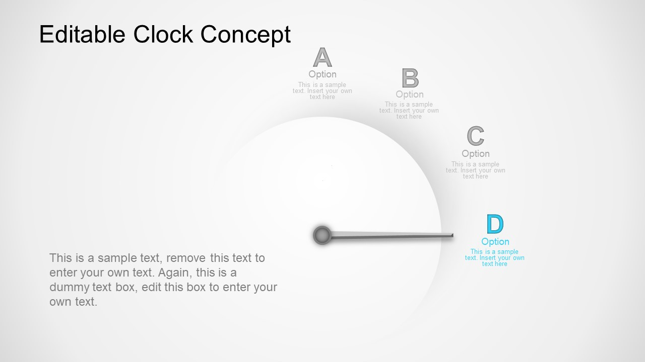 Business Clock Concept Presentation