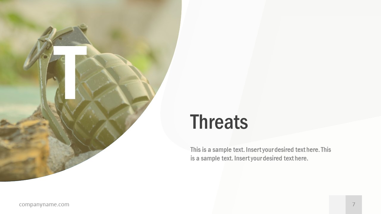 Free Business SWOT Analysis Threats