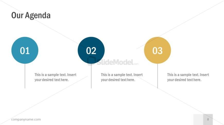 Agenda Template in Slide Deck