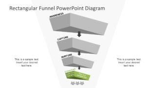 3D Design of Funnel Diagram
