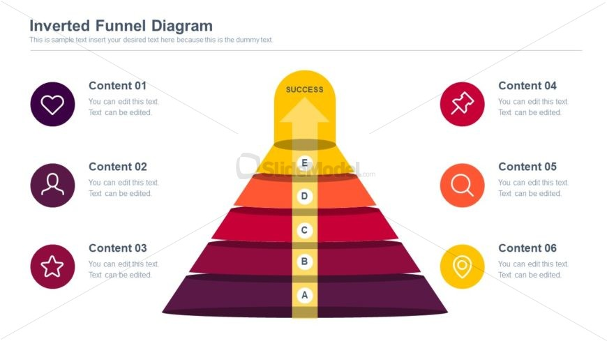 PowerPoint Funnel Diagram Template