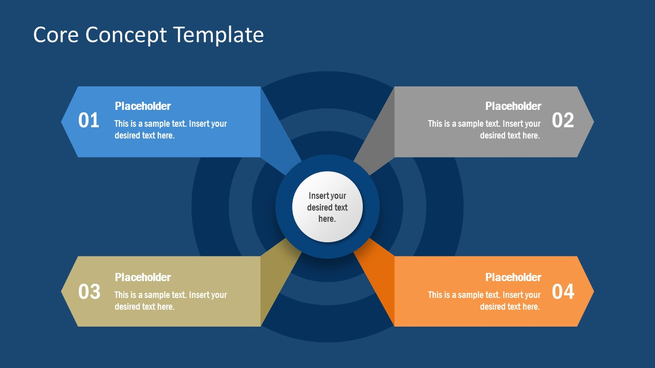 PPT 4 Core Concept Template