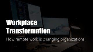Remote Work Desktop Image Background