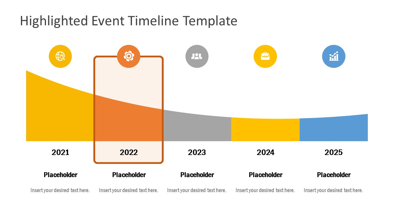 PowerPoint Event Timeline Planning