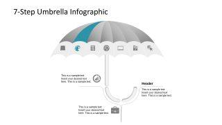 Security Template PowerPoint Umbrella