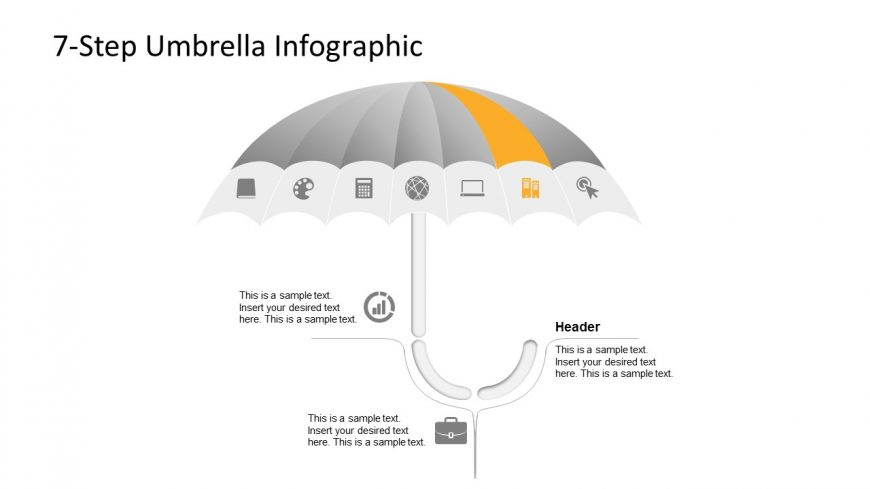 Creative Umbrella PowerPoint Layout