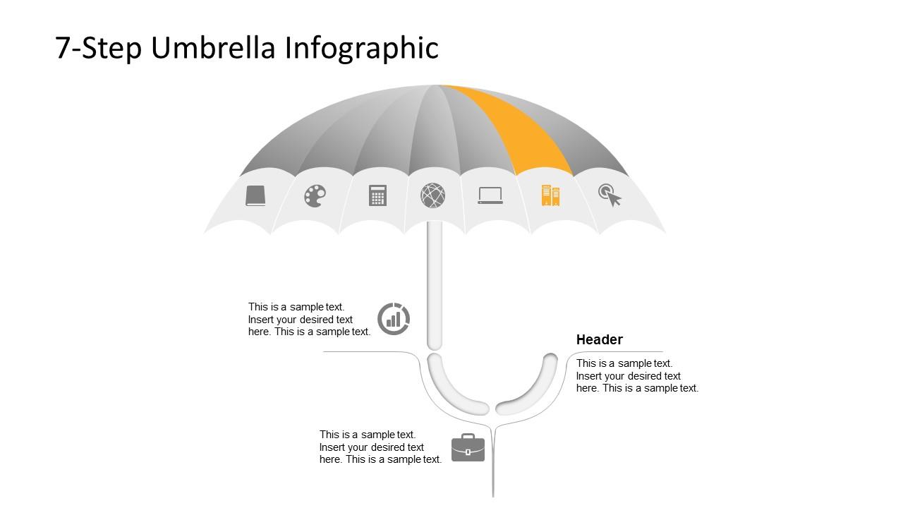 Creative Umbrella PowerPoint Layout