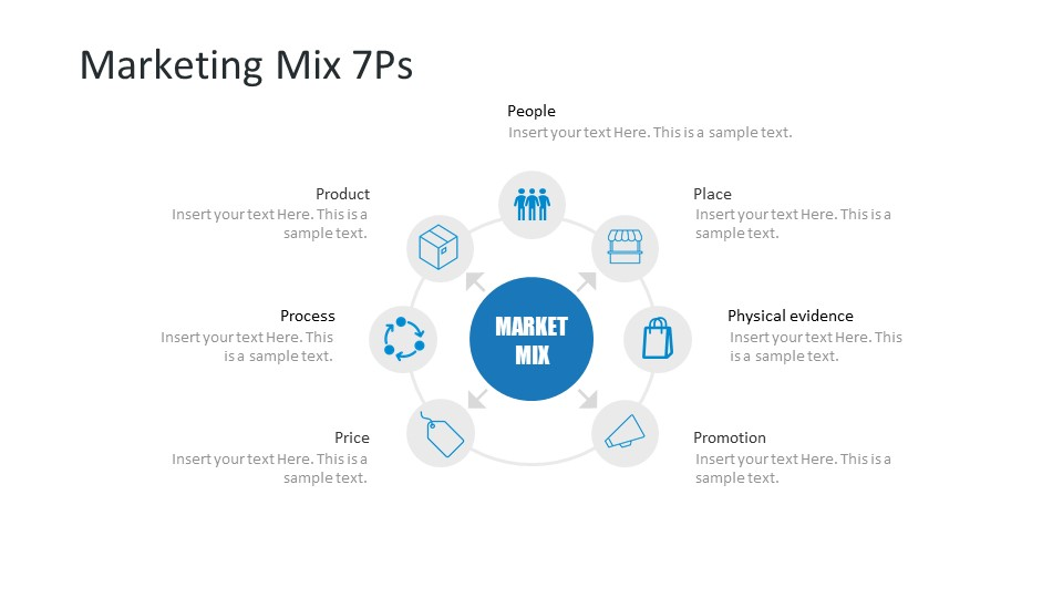 Free Slide Marketing Diagram
