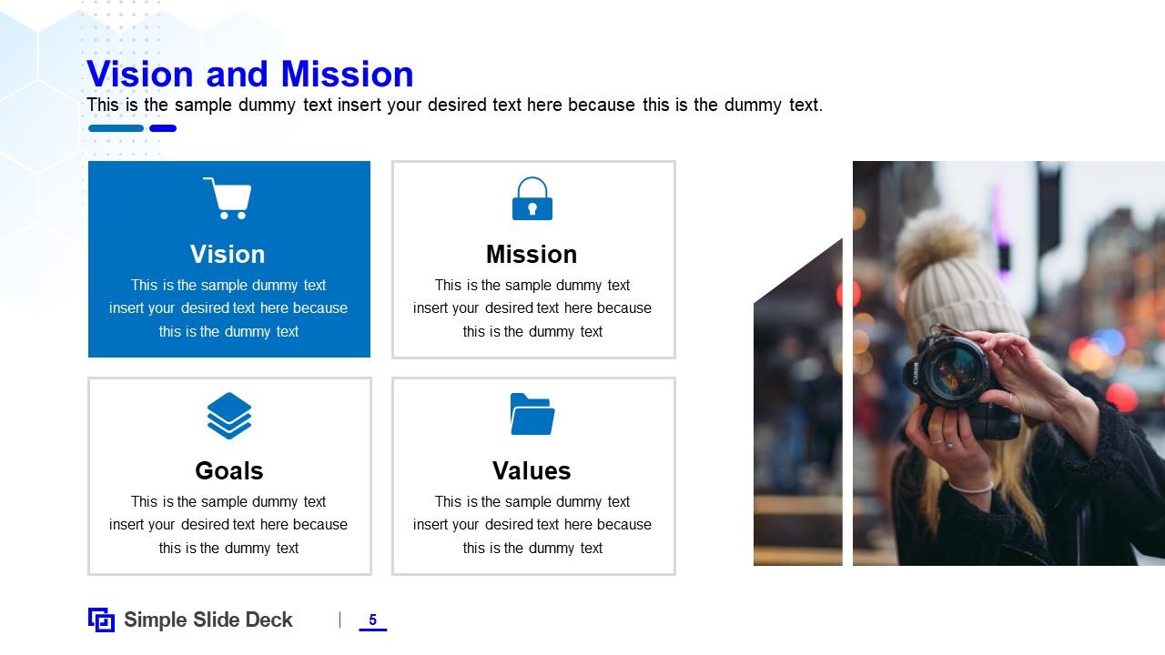 Editable PowerPoint Company Profile