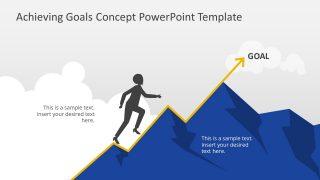 Editable Mountain Climbing Presentation Design