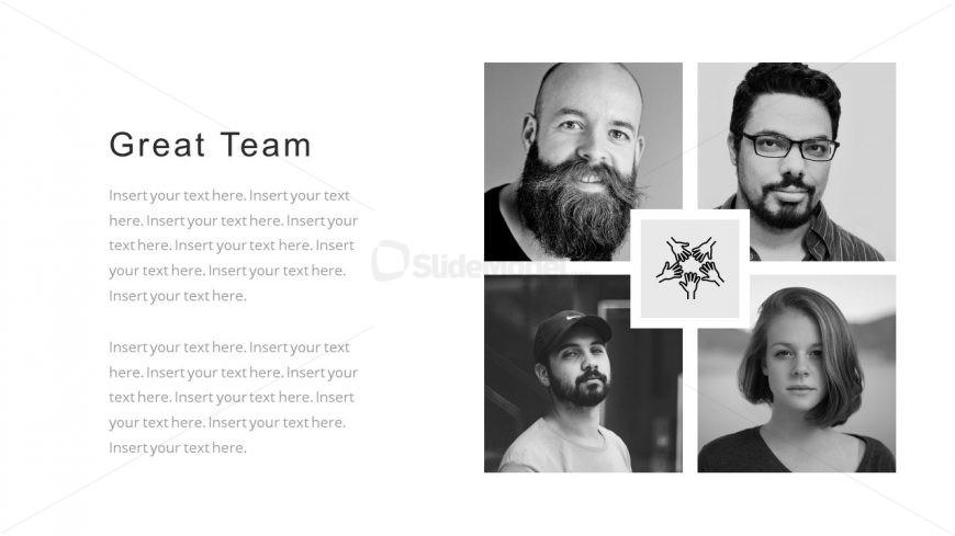 Corporate Portfolio Business Team PowerPoint