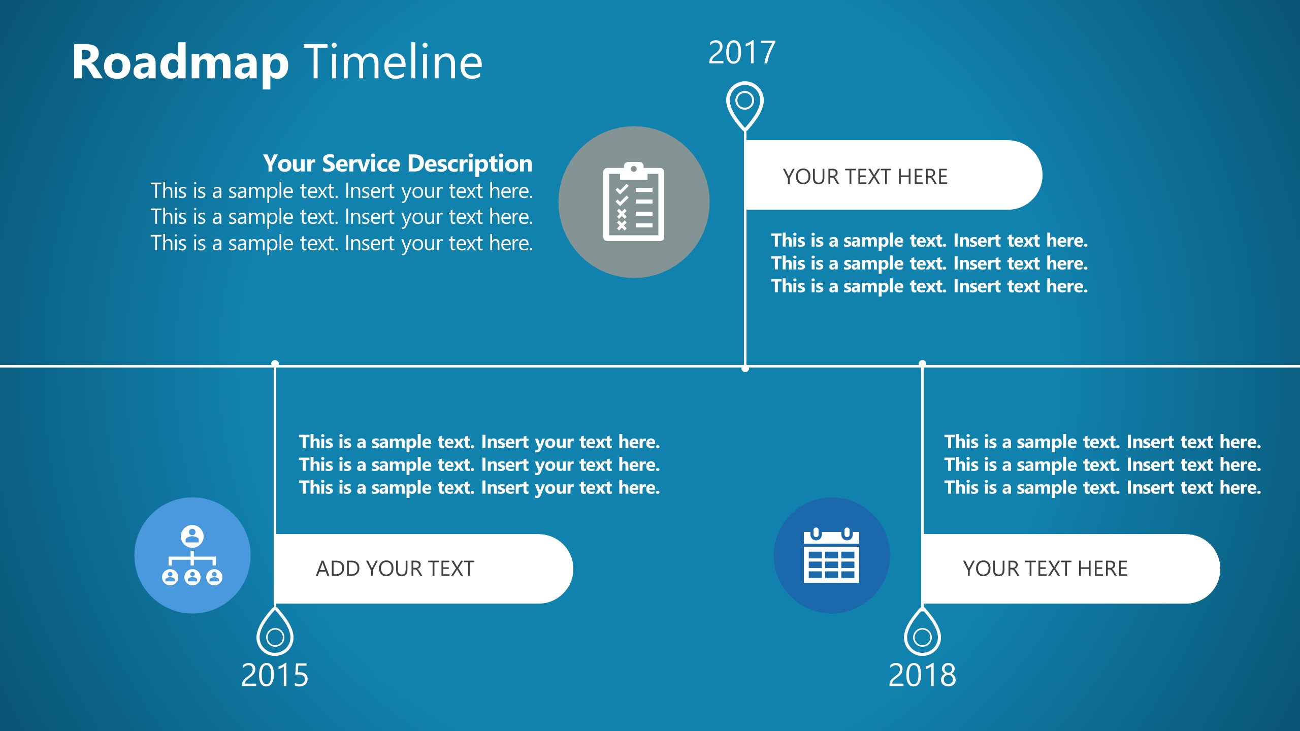Timeline Template for Corporate