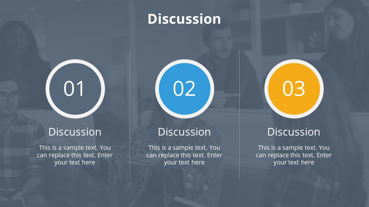 PowerPoint Professional Thesis Discussion Section