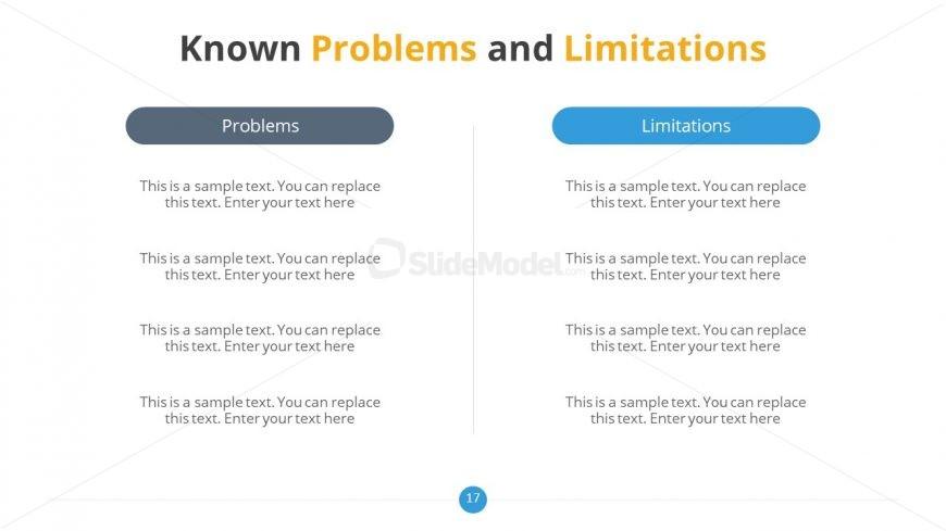 Comparison Slide Design for Professional Thesis