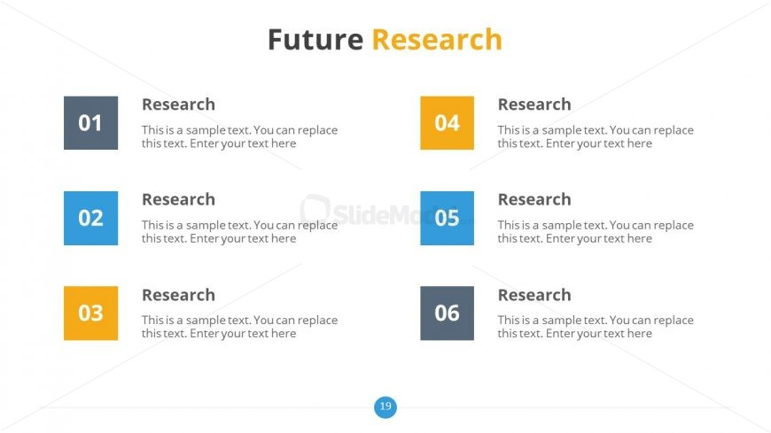 PowerPoint Slide of Feature Research