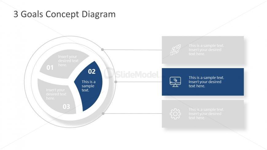 Goals Concept Free Template Design
