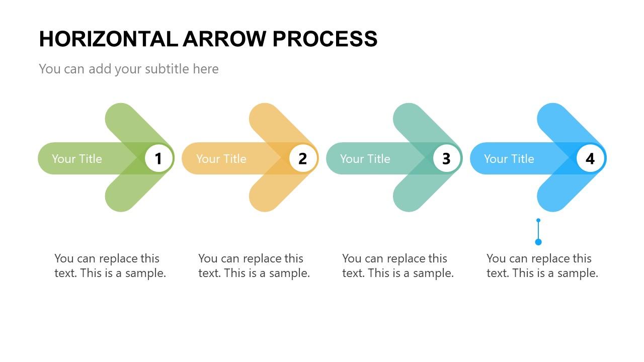 Arrow PowerPoint Template Step 4