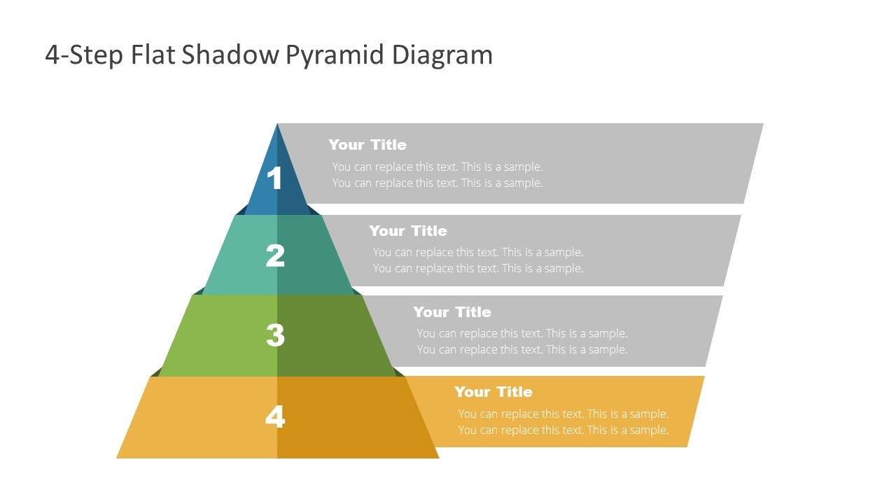 4 Steps Level 4 Pyramid Template