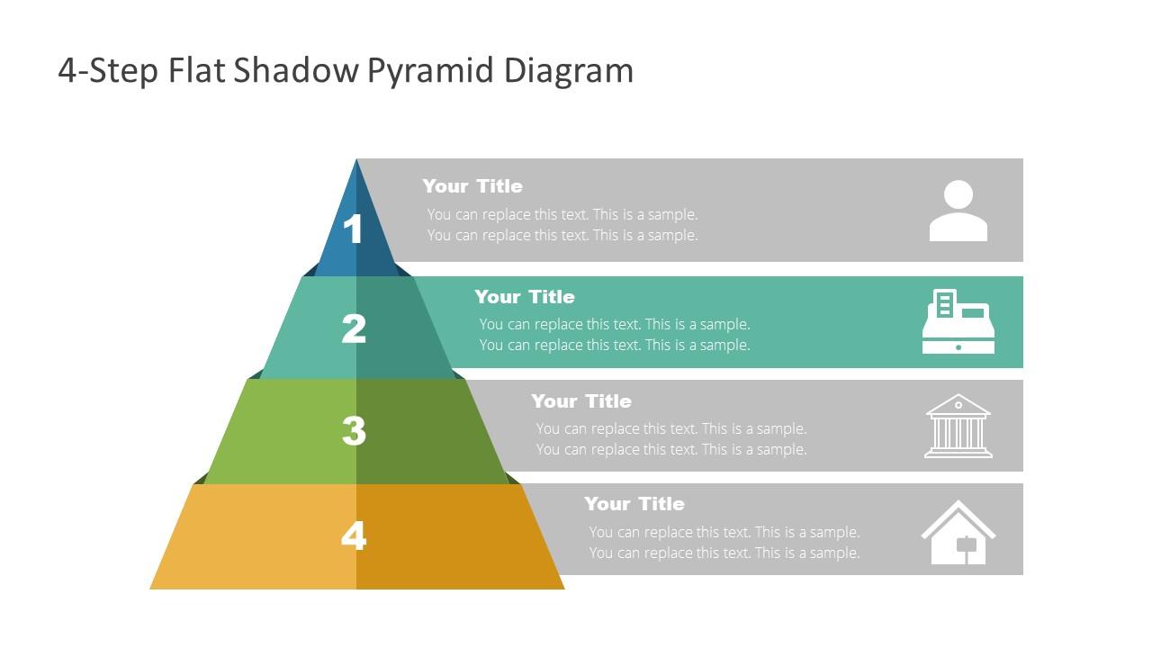 Level 2 of Flat Pyramid Diagram