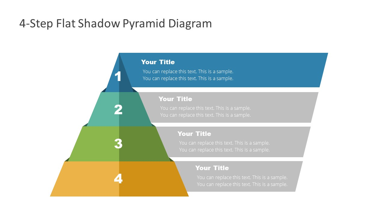4 Steps Level 1 Pyramid Template